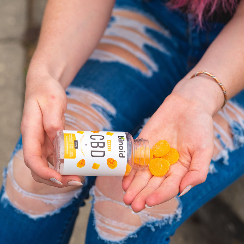 Mango CBD gummies for sale