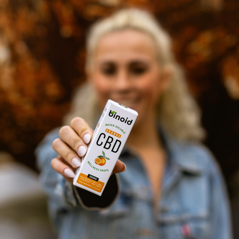 Water-Soluble CBD Drops - Orange