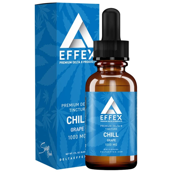 Delta Effex Delta 8 THC Tincture Chill 1000mg For Sale Buy Online