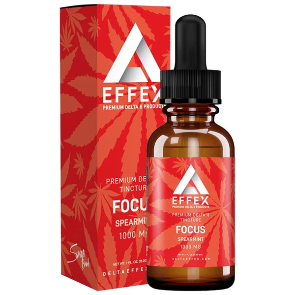Delta Effex Delta 8 THC Tincture Focus 1000mg For Sale Buy Online