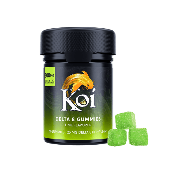 Koi Delta 8 THC Gummies Lime 25mg buy online for sale discount