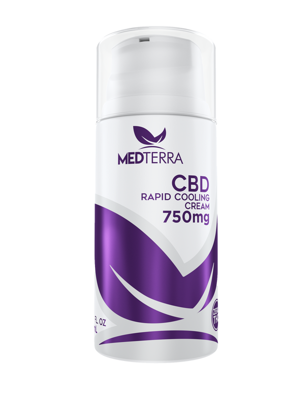 Medterra CBD Rapid Cooling Cream 750mg for sale online coupon
