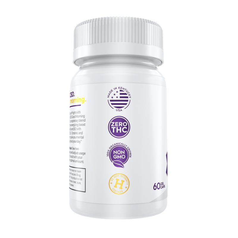 Medterra CBD Good Morning Capsules for sale discount coupon code