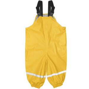 Waterproof Overalls Yellow Sml