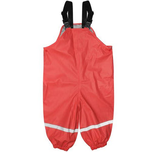 Waterproof Overalls Red Med
