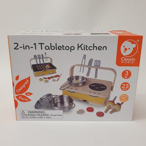 2-In-1 Tabletop Kitchen