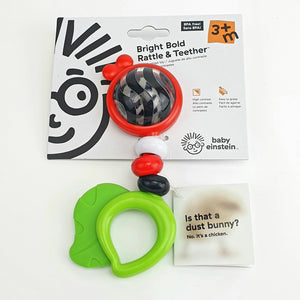 Bright Bold Rattle & Teether