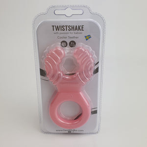 Twistshake Teether Cooler Pink