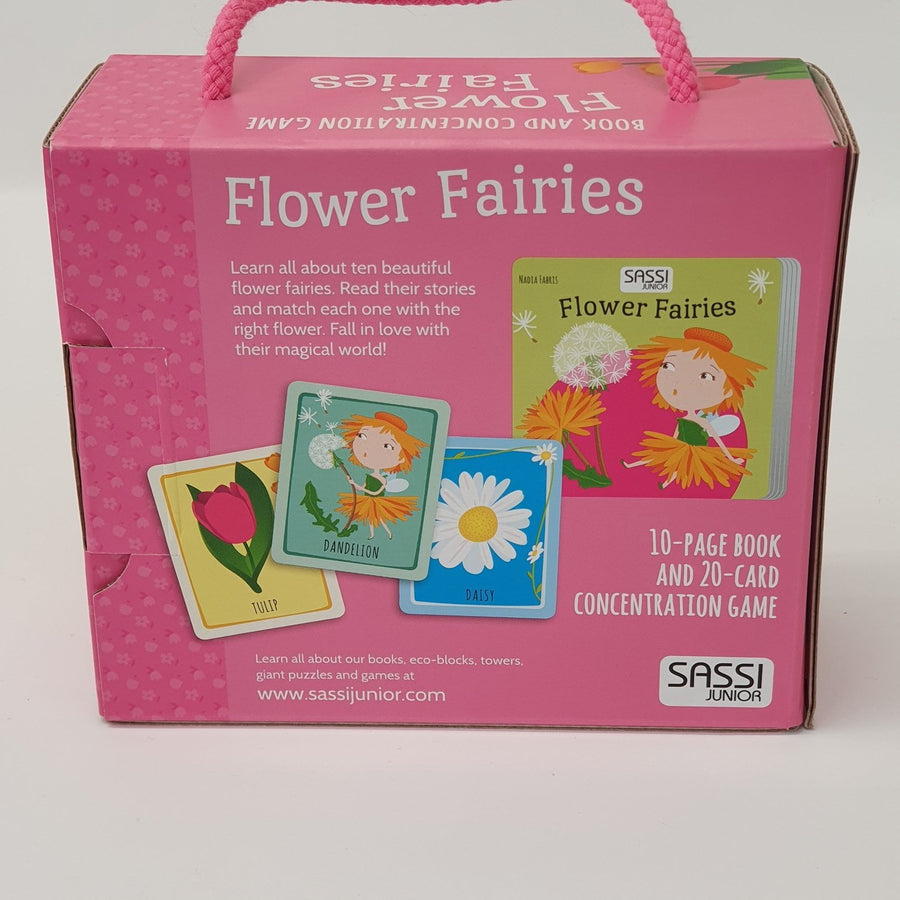 Flower Fairies Book And Game