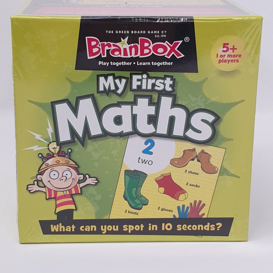 BrainBox My First Maths