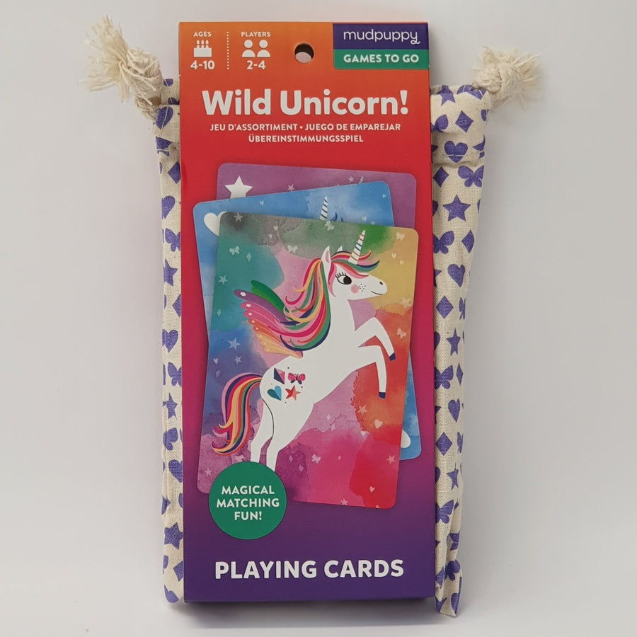 Wild Unicorn Playing Cards