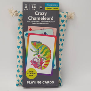 Crazy Chameleon Playing Cards
