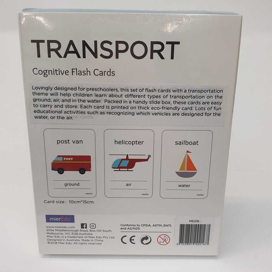 Transport Flash Cards