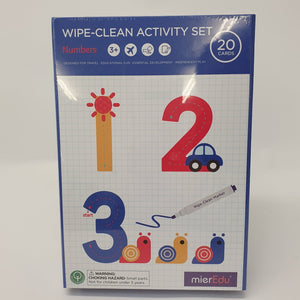 Wipe Clean Set - Numbers