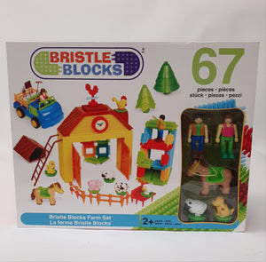 Bristle Blocks Farm Set