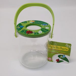 Bug Jar With Magnifier Green