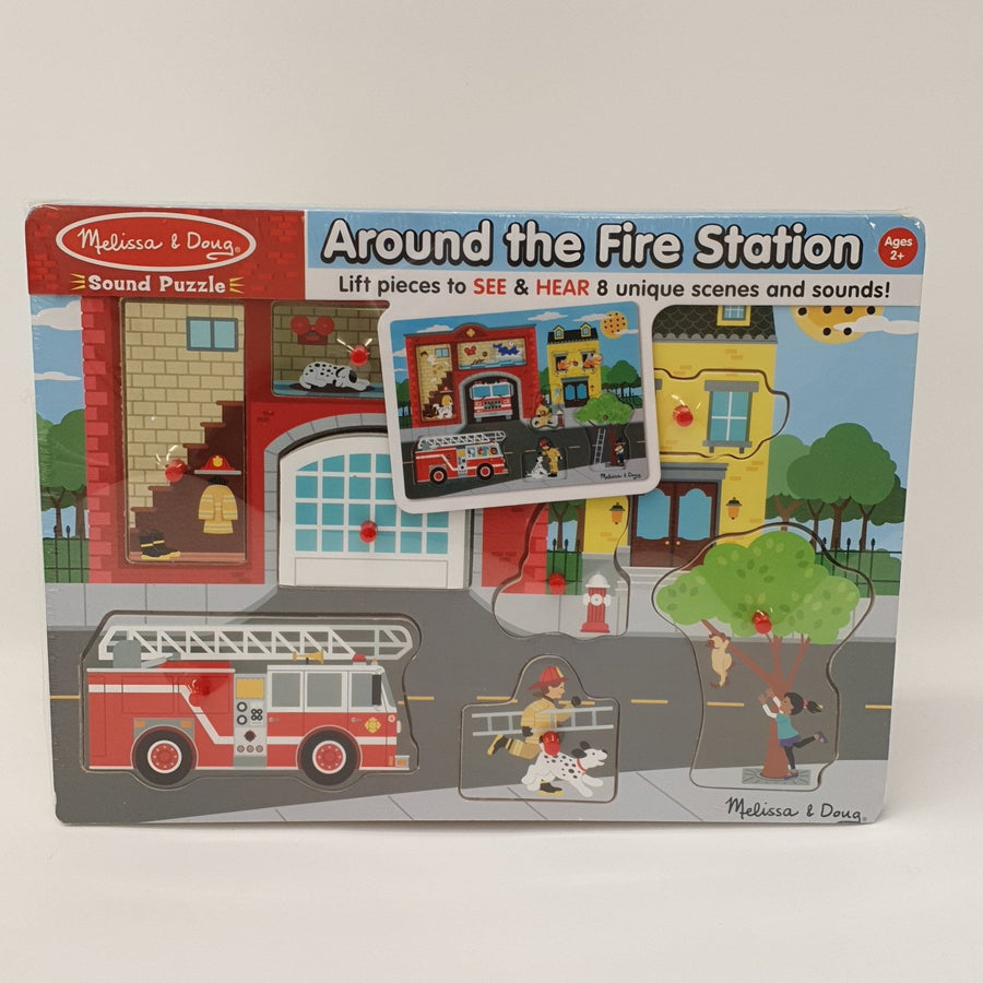 Around The Fire Station Puzzle