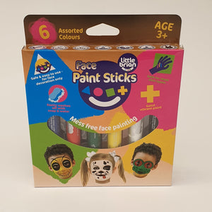 Face Paint Sticks 6 Pack