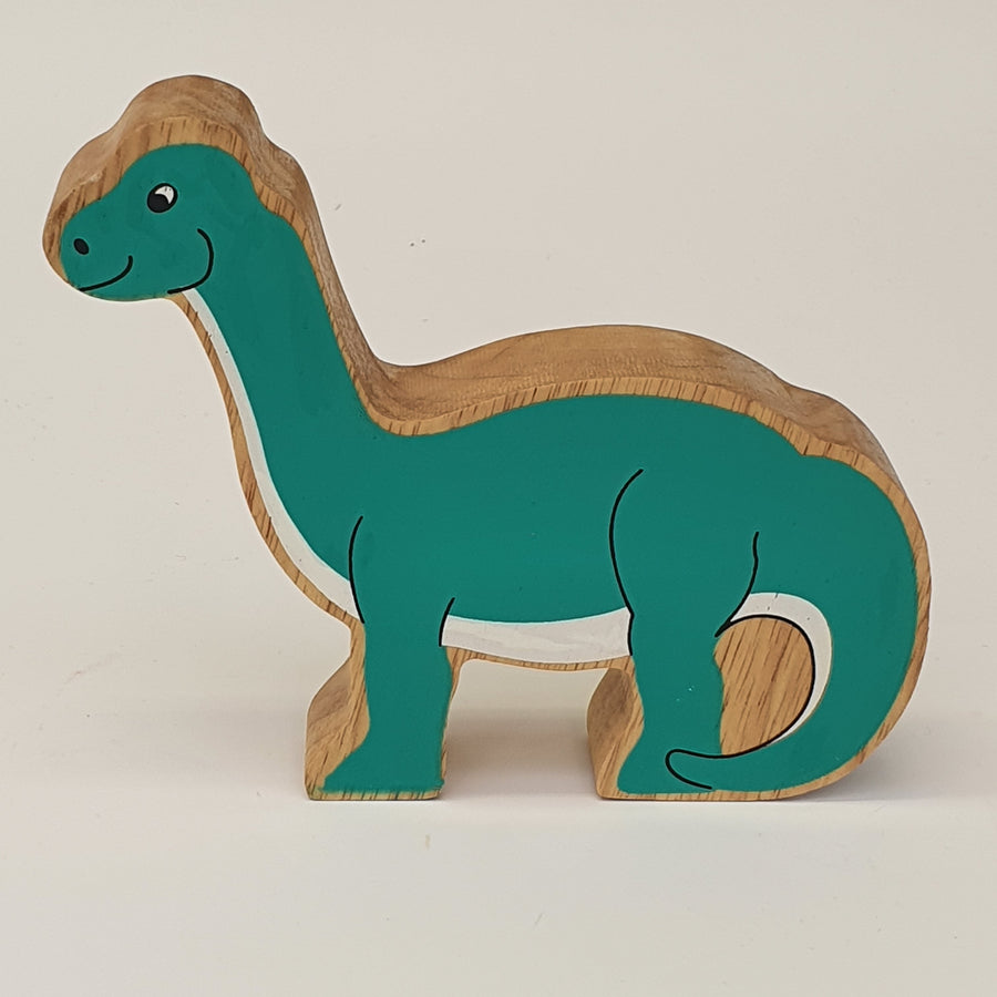Wooden Green Diplodocus