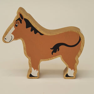 Wooden Brown Horse