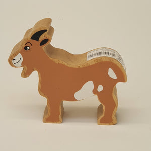Wooden Brown Goat