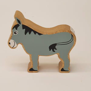 Wooden Grey Donkey