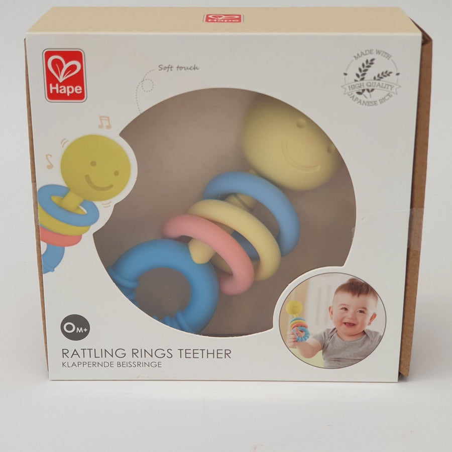 Hape Rattling Rings Teether