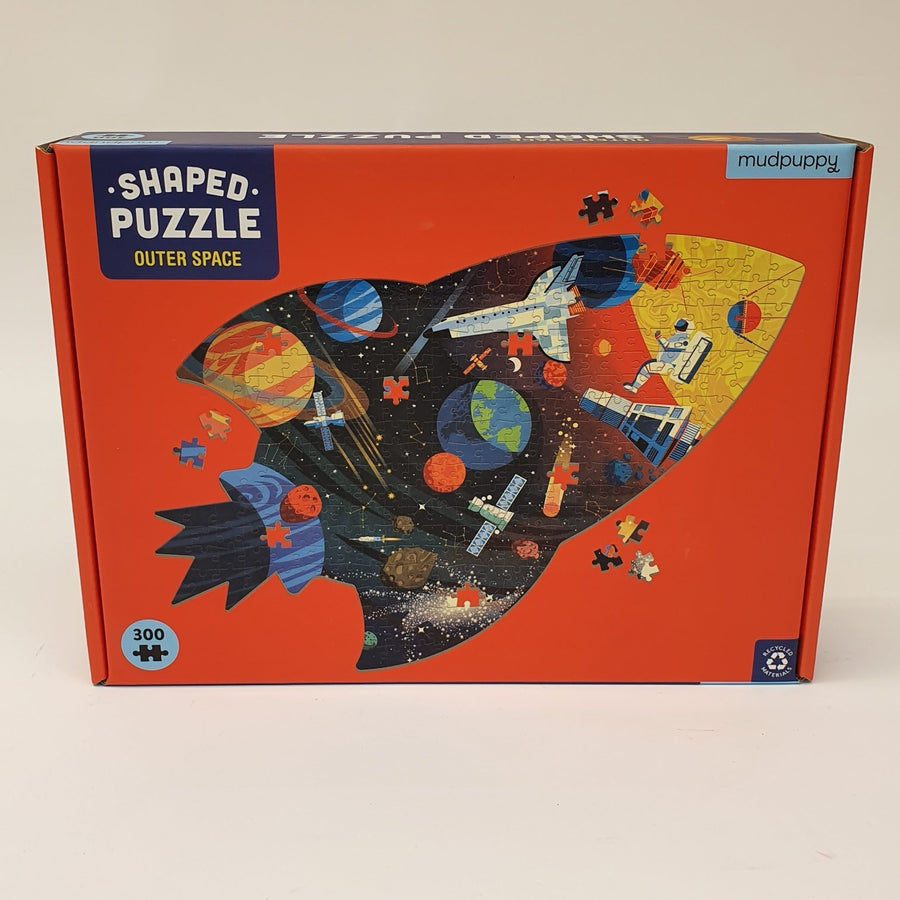 Shaped Puzzle Outer Space