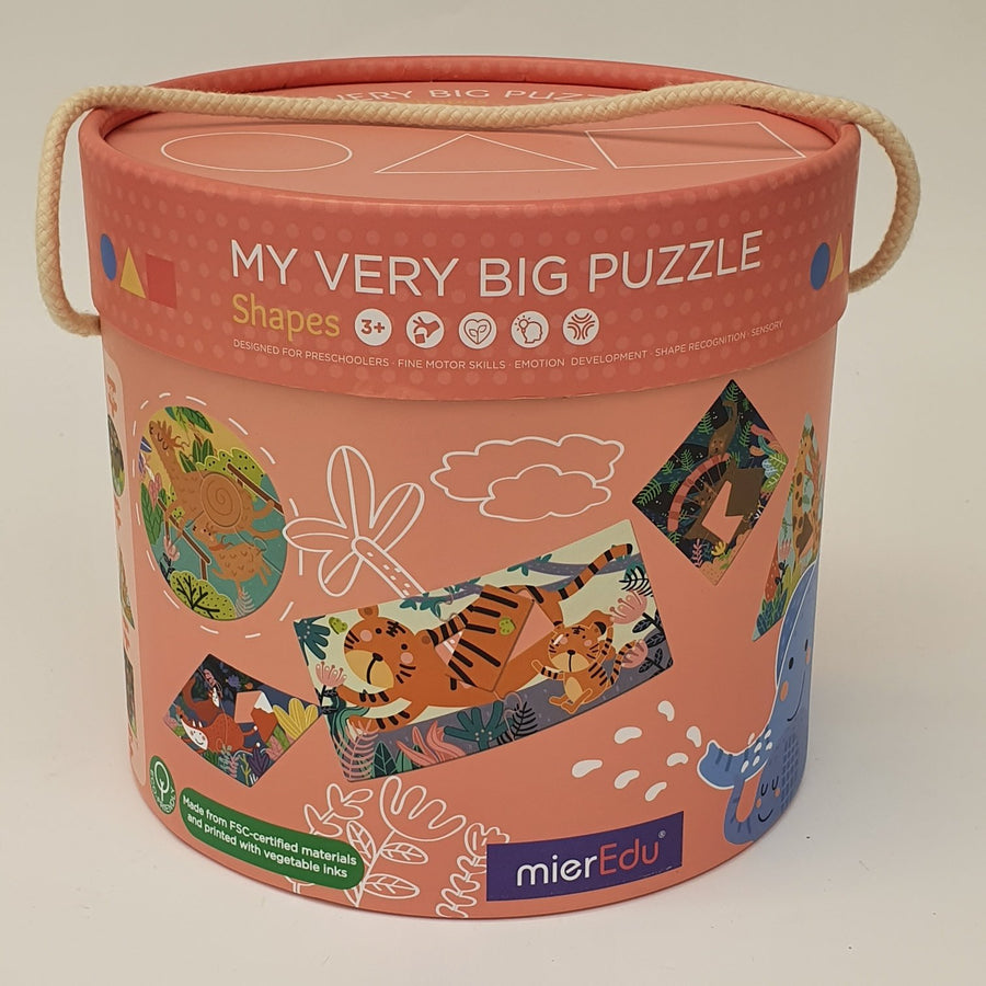 My Very Big Puzzle - Shapes