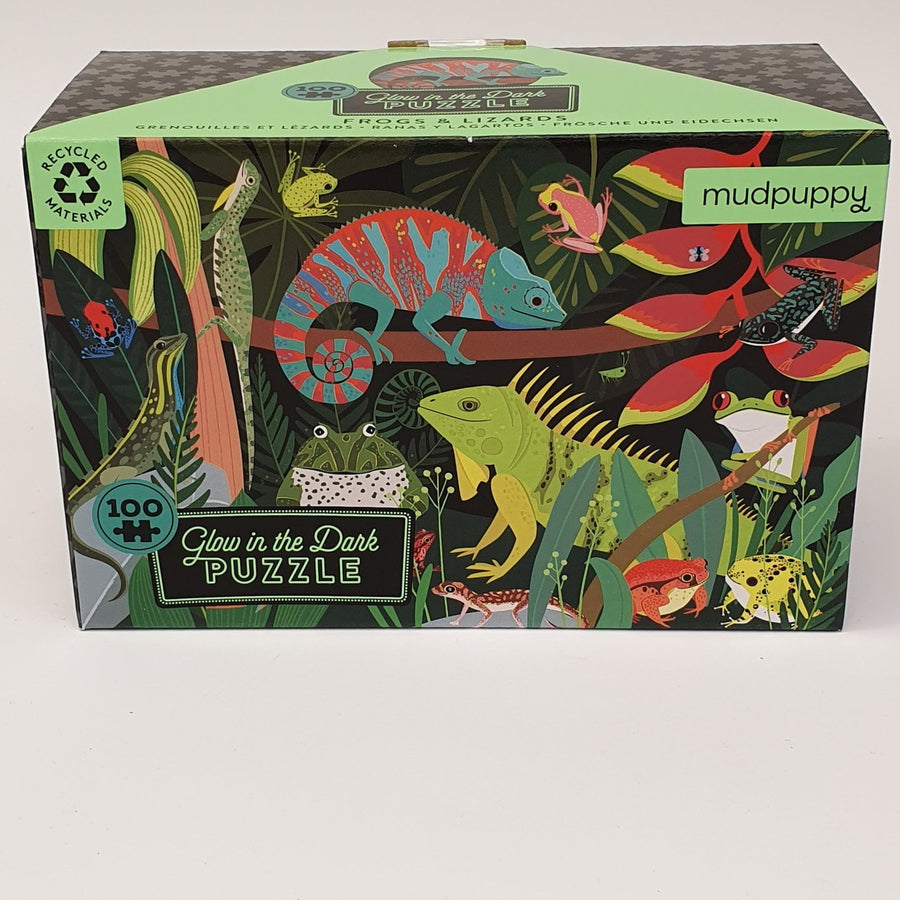Frogs & Lizards Puzzle 100pce