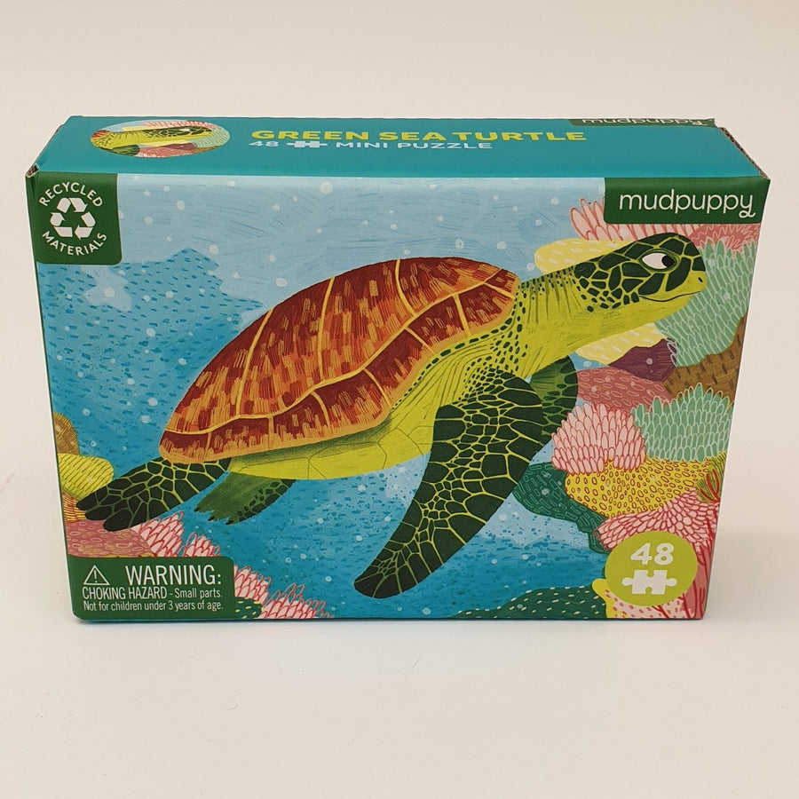 Green Sea Turtle Mini Puzzle