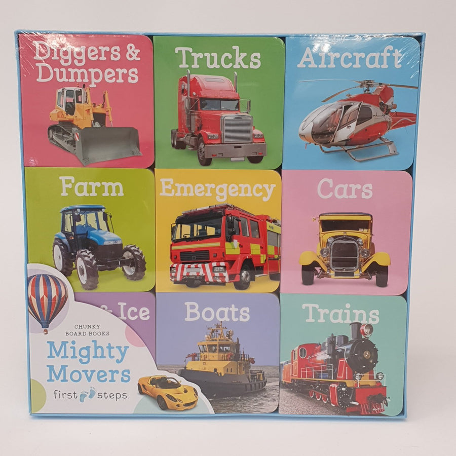 Mighty Movers Book Collection