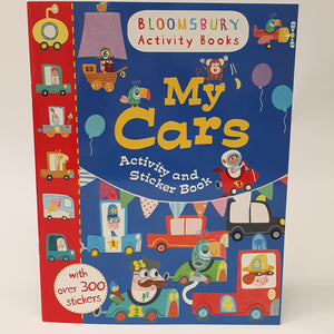 My Cars Activity Book