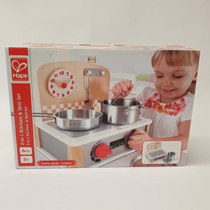 Hape 2in1 Kitchen & Grill Set