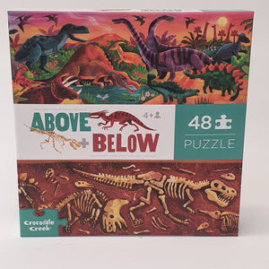 Above + Below Dinosaur Puzzle
