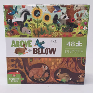 Above + Below Puzzle Backyard