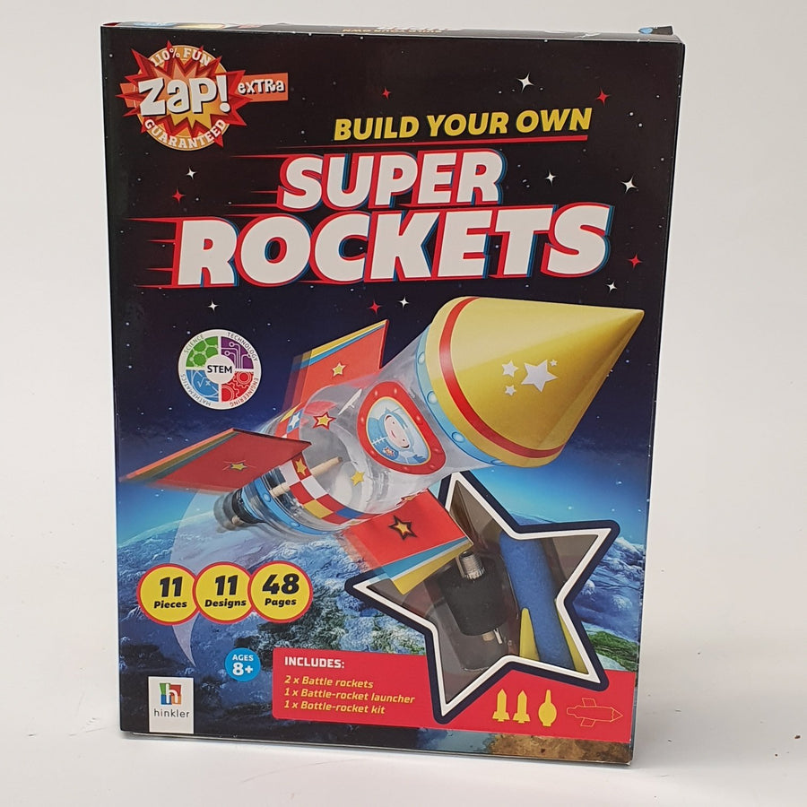 Build Your Own Super Rockets