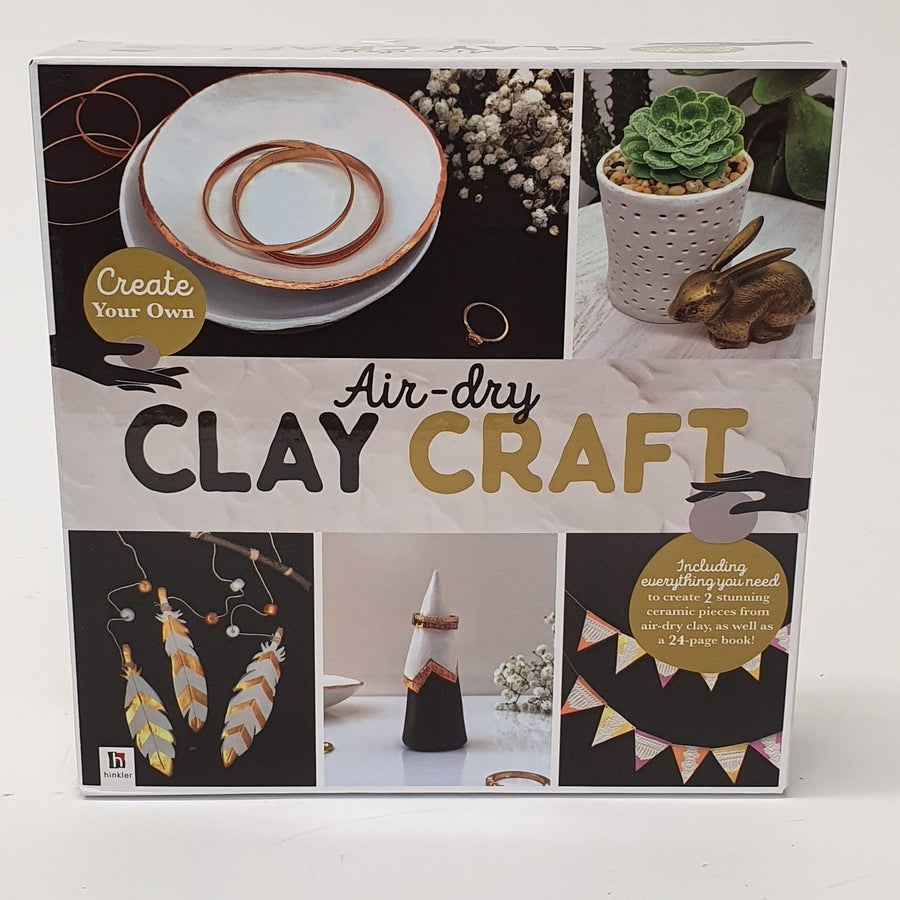 Air Dry Clay Craft