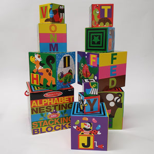 Alphabet Stacking Blocks