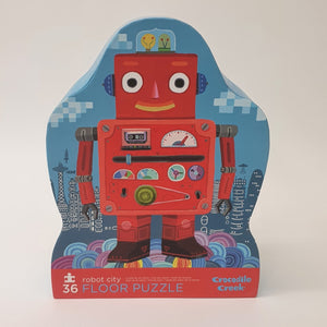 Robot City Floor Puzzle