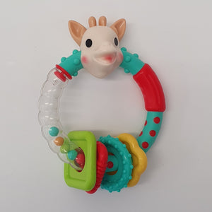 Sophie Multi-textured Rattle