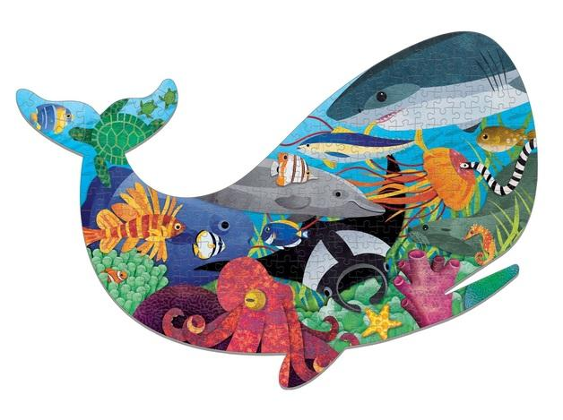 Shaped Puzzle Ocean Life