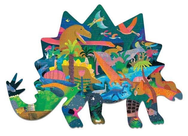 Shaped Puzzle Dinosaurs