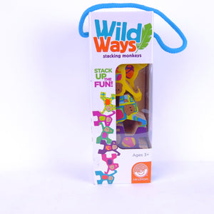 Wild Ways Stacking Monkeys