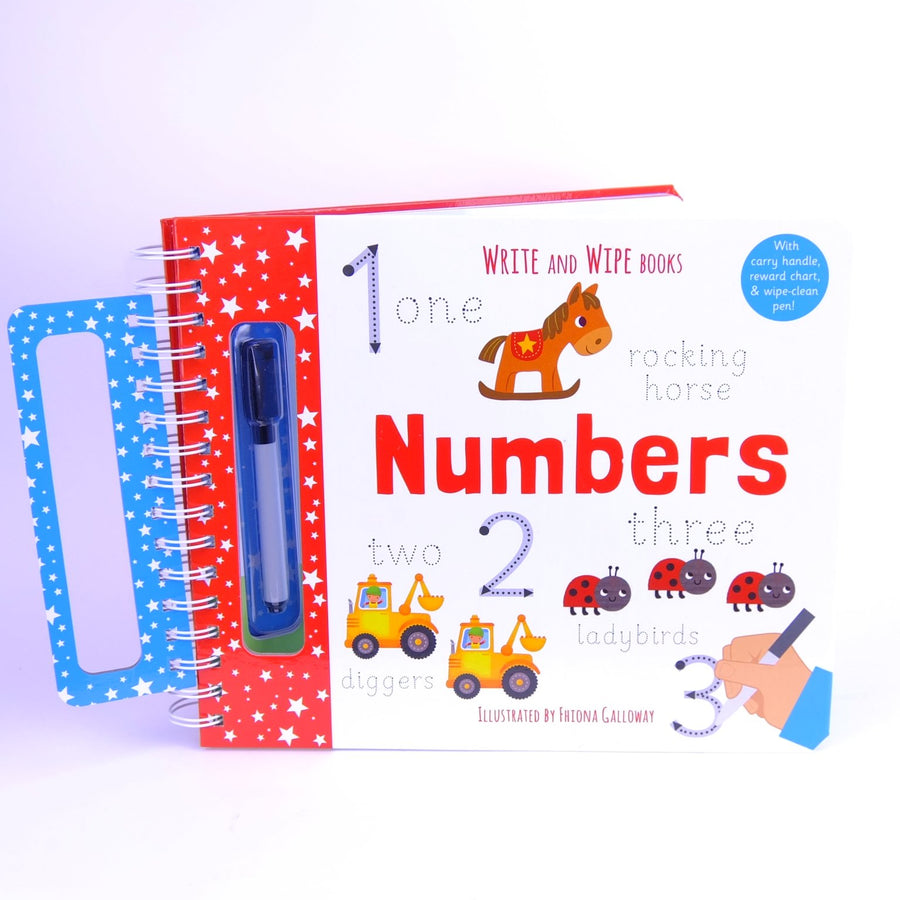 Write and Wipe Books Numbers