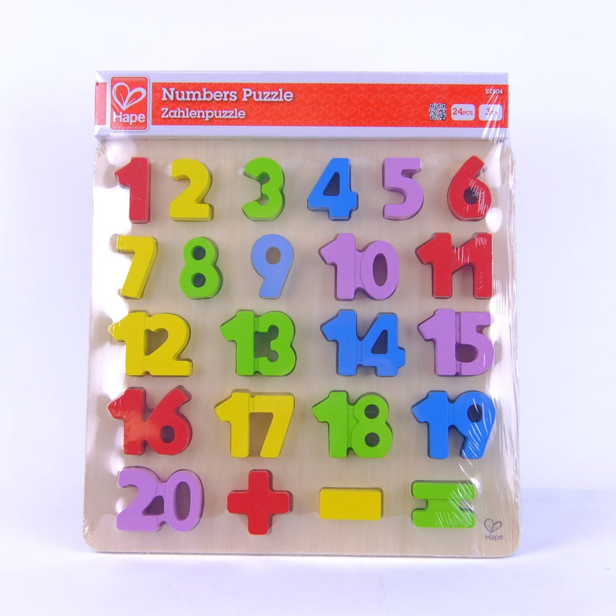 Hape Numbers Puzzle Wooden