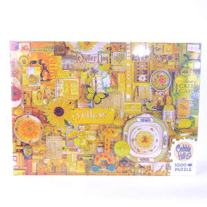 Cobble Hill Puzzle Yellow