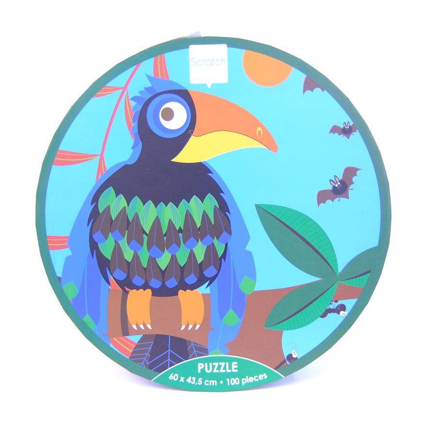 Toucan Jungle Puzzle 100 pc
