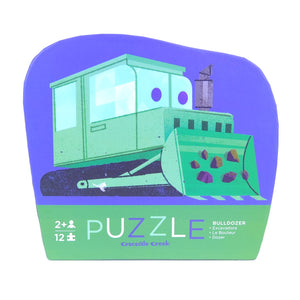 Croc Creek Puzzle Bulldozer