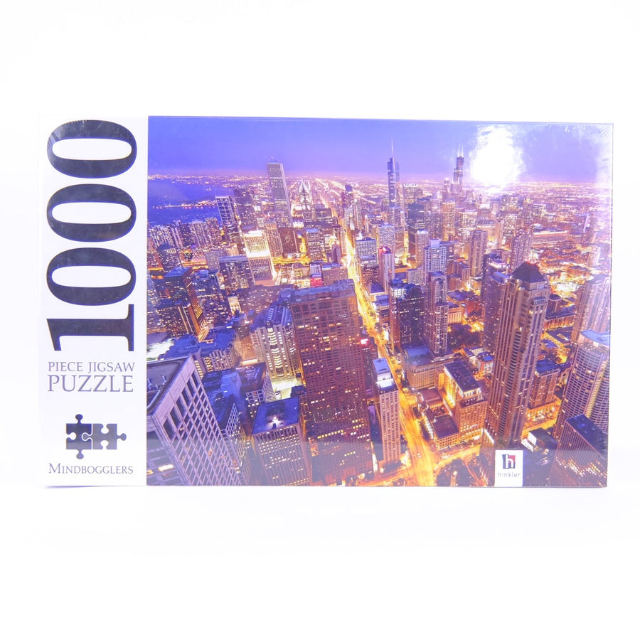 1000 Piece Chicago Twilight